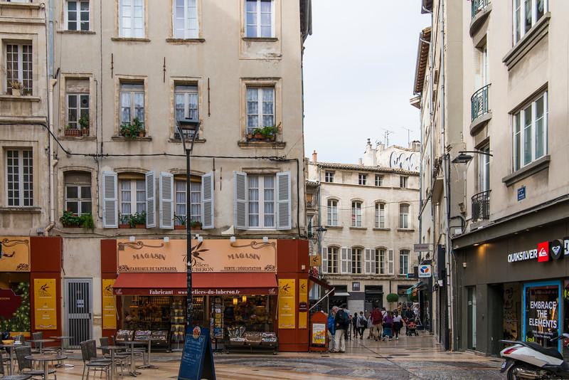Avignon square.