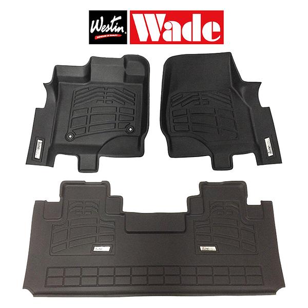 Wade 72-110069 Black Sure-Fit Front Mat