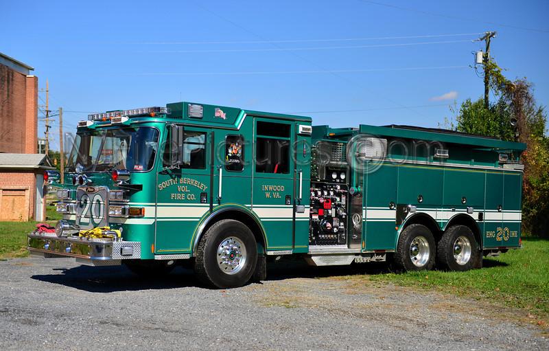 SOUTH BERKELEY, WV ENGINE 20