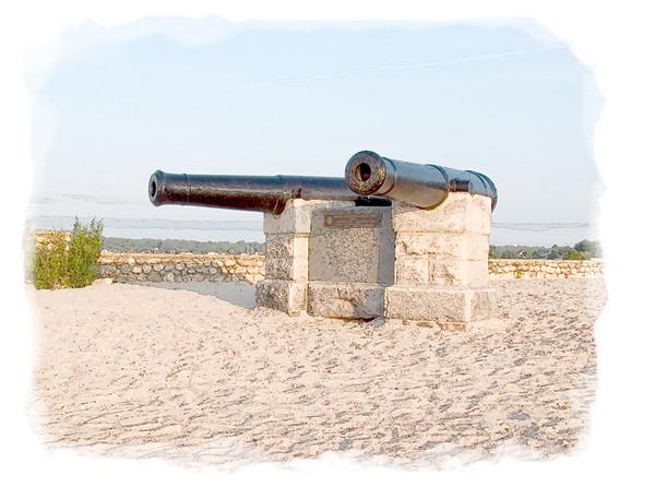 Revolutionary War Cannons, Compo Beach, Westport, CT