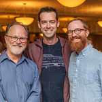 John Harris, Kyle Meredith and Dave Howard.