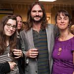 Pearl Beerhorst, Joe Merchanthouse and Kelly McCarthy.