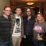 Logan Zell, Johny Davis, Corey McAfee and Karen Davis.
