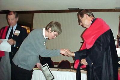 Jocelyn Wingfield, Polly Horne & Bob Carr