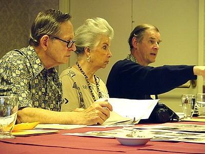 Bob & Wilsie Carr, Jocelyn Wingfield