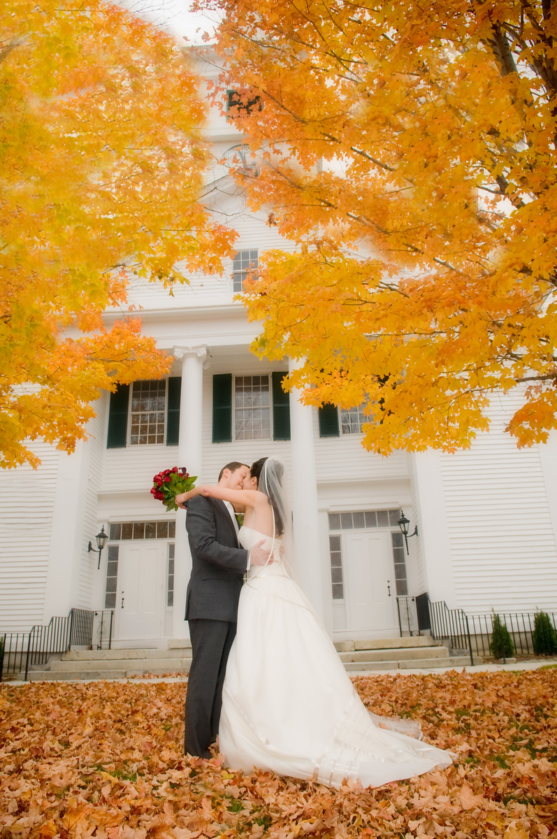NH Fall Wedding Photography