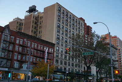 Early morning on the corner of Broadway and 82nd.  Thank goodness the sun came up to warm us, ever so slightly.