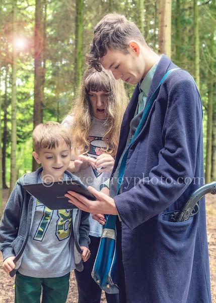 Aidan, Leah & Will