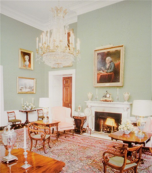 The Green Room: White House Tour