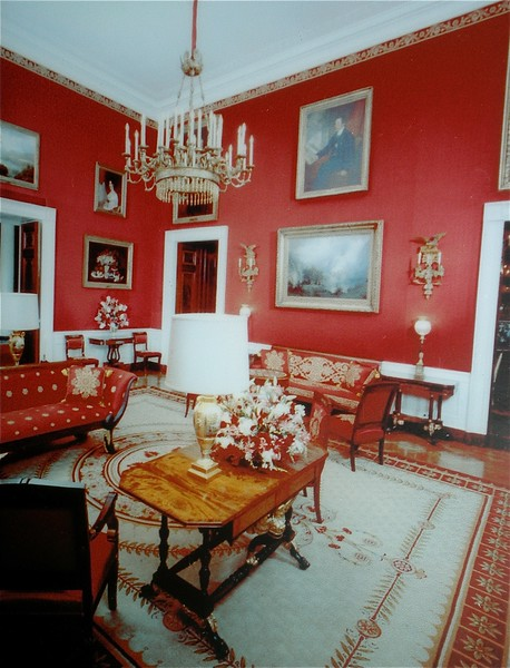 The Red Room: White House Tour