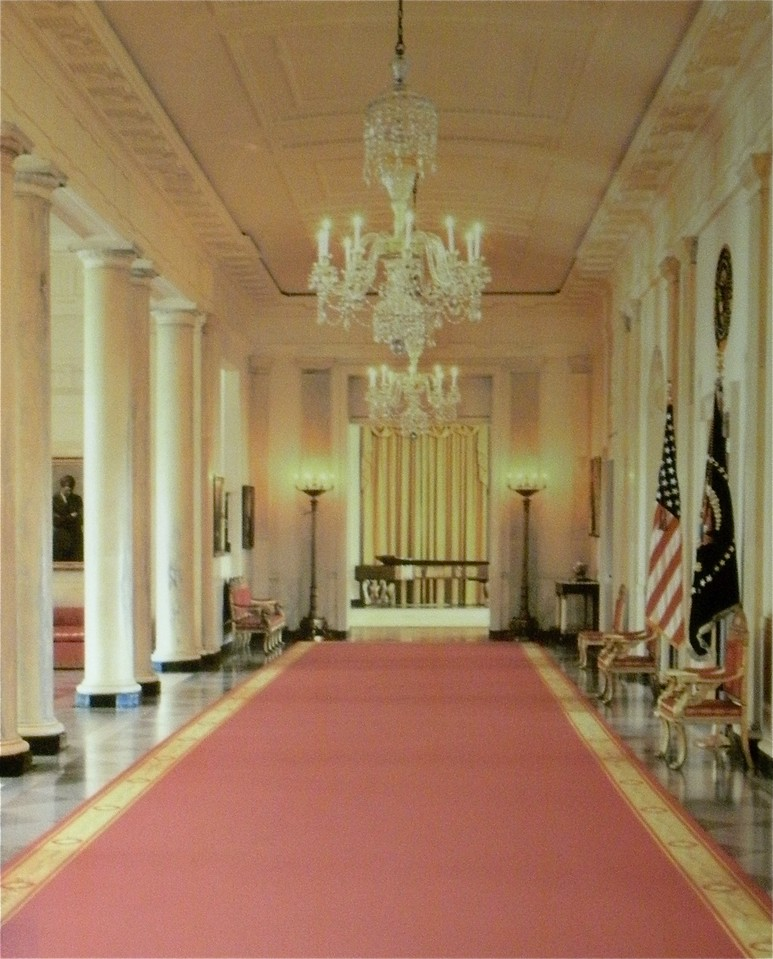 The North Entrance: White House Tour