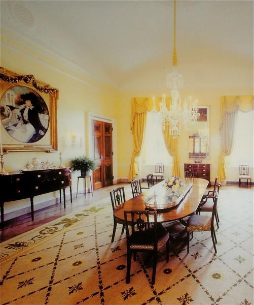 Family Dining Room: White House Tour