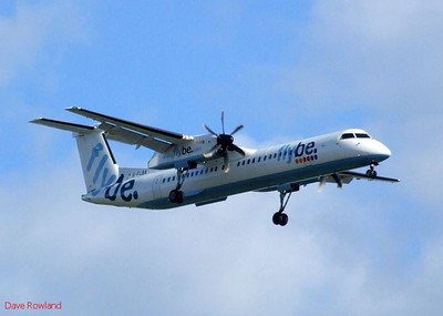 Flybe G-FLBA, Eastleigh, 22nd October 2010.