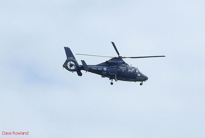 Royal Navy helicopter ZJ165 over Portsmouth during Navy Days on 30th July 2010.