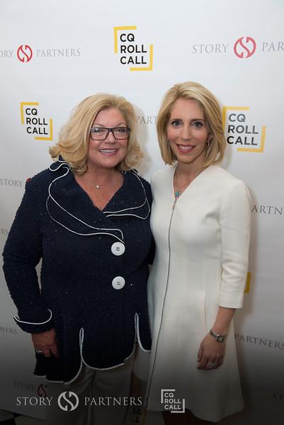 Gloria Dittus and Dana Bash