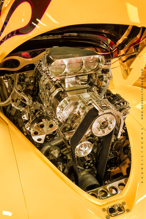 1941 Willys Coupe Power Plant