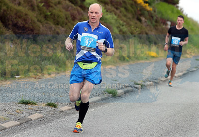An ex Skyeman, David Cullen, returned to the island to compete in the race, finishing in an excellent time of 1:33:53