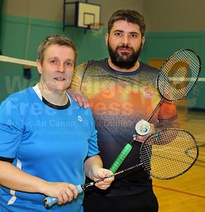 Winners - Debbie Craig and Kenneth Mann.