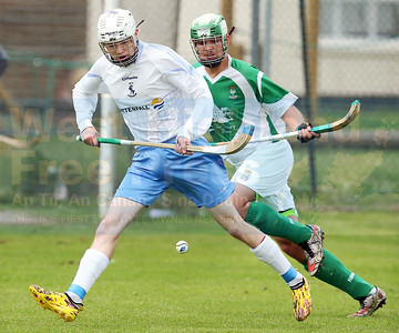 James Pringle on the attack for Skye.
