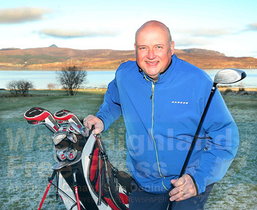 The new Isle of Skye Golf Club Captain is Ally Young from Staffin.
