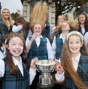 The Nicolson Choir didn't mind the windy conditions on Tuesday as they celebrated with some silverware.