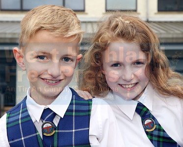 Luke Johnson and his sister Ellie Ceit both won solo gold medals.