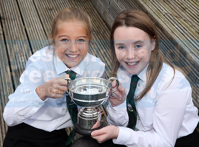 The u-13 fluent duet winners were Mhairi MacKenzie and Andrea MacDonald from Rionnagan Ross.