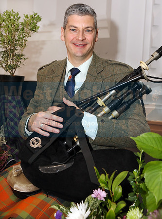 Jonathan Greenlees from Glasgow had the highest aggregate score in the piping competitions.