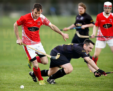 Typical steely determination from Inverness veteran Ewen 'Crossal' MacKinnon.