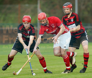 David Falconer is calm under pressure from the Oban forwards.