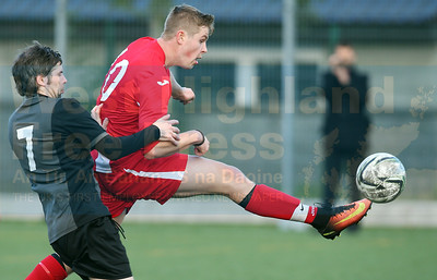 Sleat forward Josh Knowles scoring a fantastic winning goal late into extra-time.