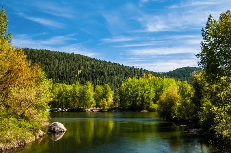 Wenatchee River, Leavenworth