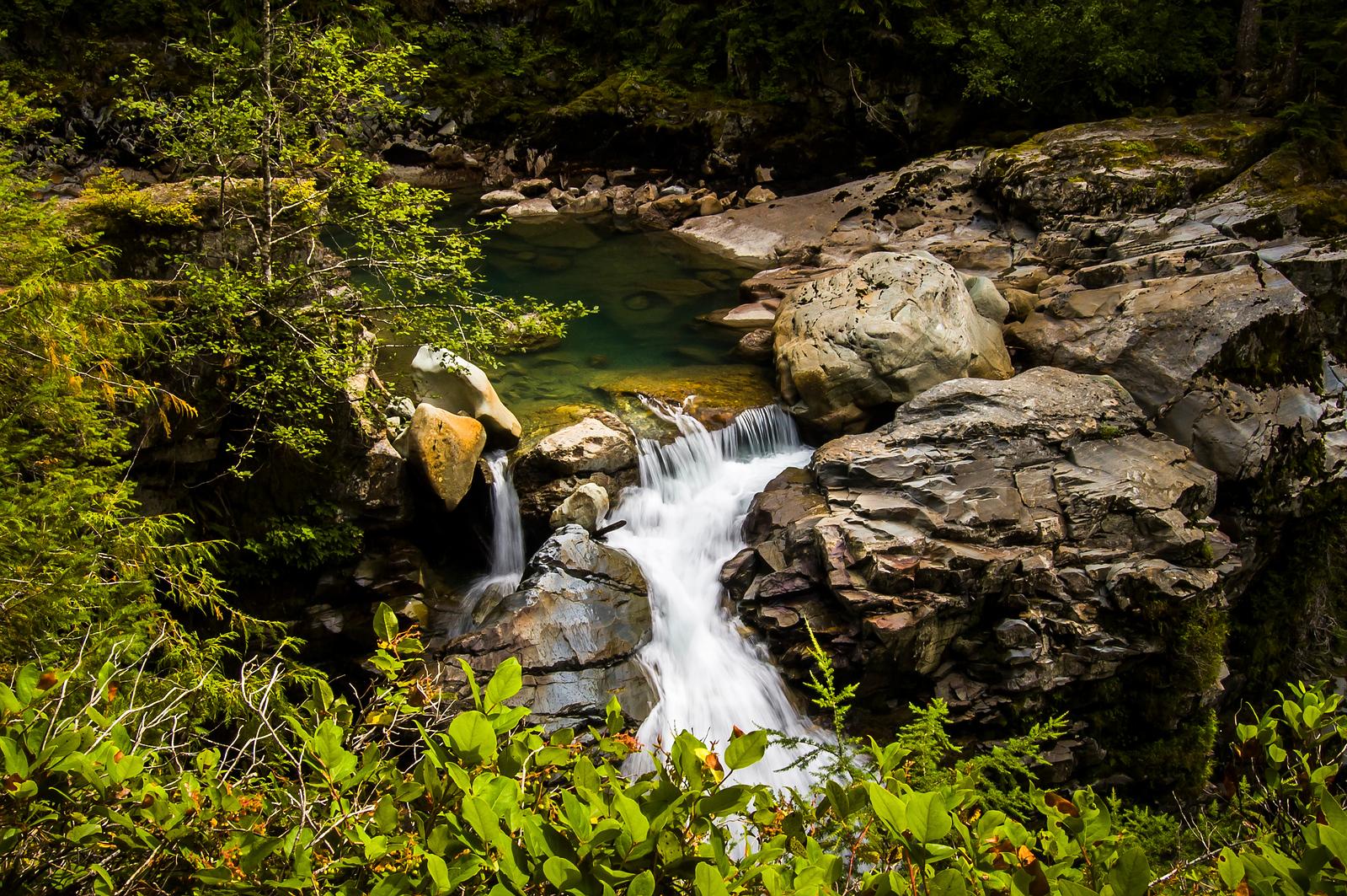 Waterfall near Mt. Baker