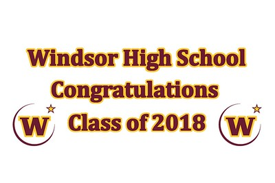 Windsor High School Grad Party - May 12, 2018