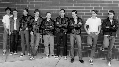 The Greasers-A