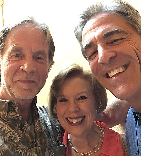Fred First, Beverly Adamson and Mike Tribble