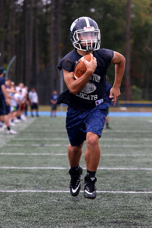 . Wilmington High School running back John Kenney. SUN/JOHN LOVE
