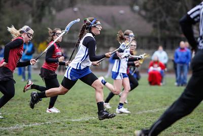 WHS girls lacrosse - Morristown Beard 4/16/11