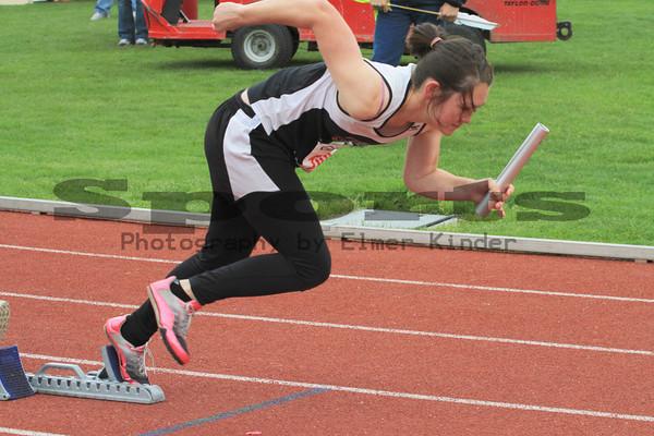 WIAA Track & Field State Championships B,2B & 1A 05/29/2010