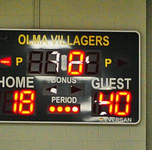 WILDWOOD CATHOLIC ( 40 ) AT O.L.M.A. ( 18 ) . GIRLS BASKETBALL-01/21/ 19