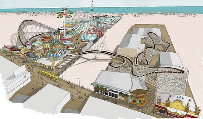 New Morey's Roller Coaster