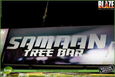 WILLIAM LAWSON'S ROADSHOW | SAMMAN TREE BAR