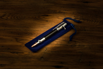 30 Caliber Pen - Ebony