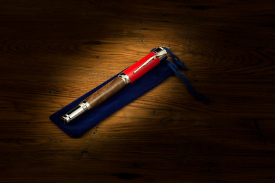 SHOTGUN PEN - RED