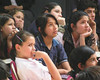 Students in Paraguay listen to the gospel, with many acknowledging openly their decision to follow Christ