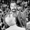 1174 CHAMBERLAIN, WILT APRIL 1984 KAREEM BREAKS ALL TIME SCORING RECORD INTERVIEW WITH STU NAHAN, 1 OF 4