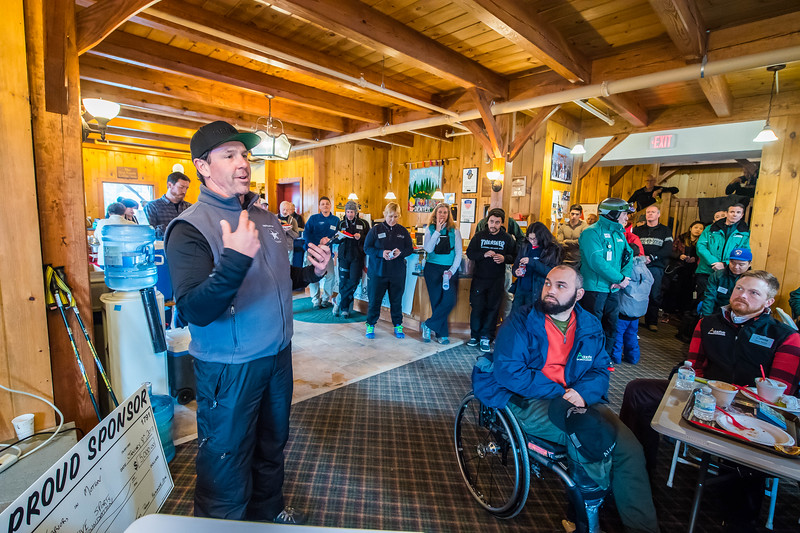 Adaptive Sports Foundation, Warriors In MotionWeekend, Windham Mountain, NY; 1/6/17