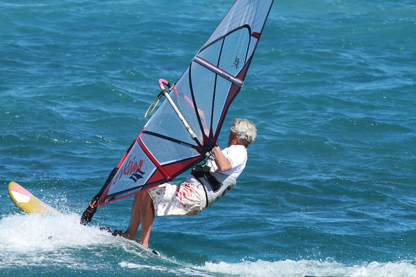 Windsurfing Jan 2012