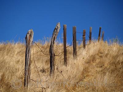 Border Fence Del Valle Image I.D. #:  V-06-007