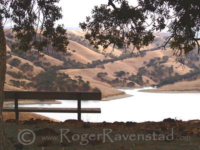 Rest Stop Lake Del Valle Image I.D. #:  V-06-003